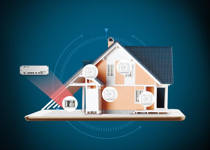 网月未来家庭网络系统,分布式组网方式让家庭组网更简单
